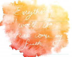 inspiration hope and faith